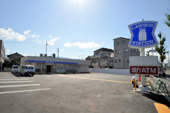 コンビ二:ローソン 八尾萱振店 423m 近隣
