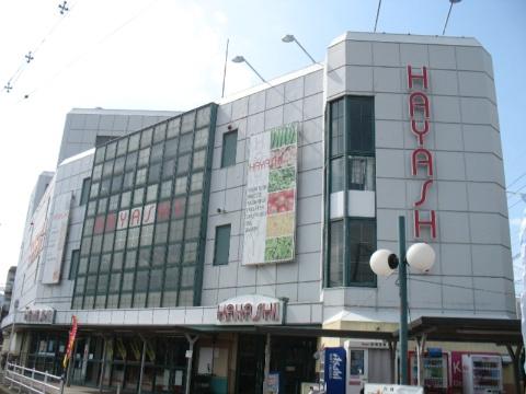 スーパー:スーパーはやし山本店 340m