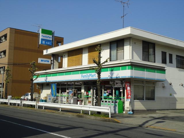 コンビ二:ファミリーマート 皿沼二丁目店 608m
