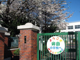 小学校:港区立御田小学校 400m
