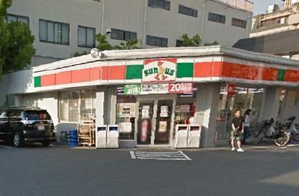 コンビ二:サンクス 西新井四丁目店 394m