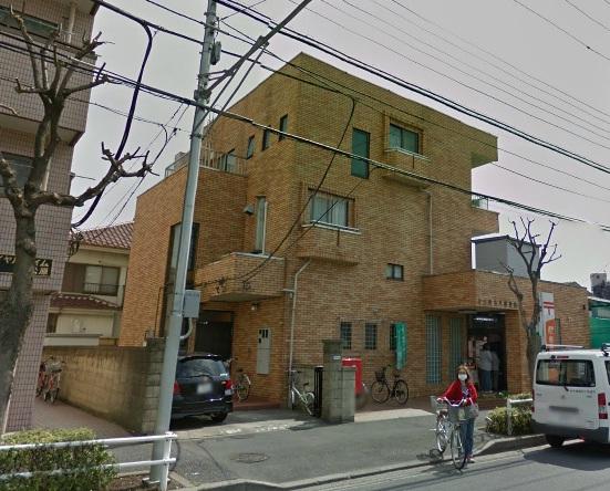 郵便局:足立鹿浜八郵便局 637m