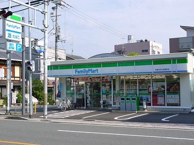 コンビ二:ファミリーマート 京都今出川針屋町店 458m