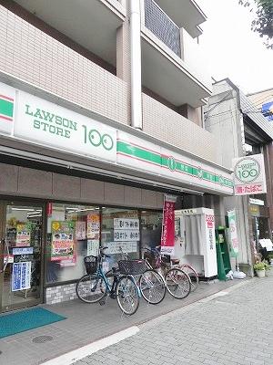 コンビ二:ローソンストア100 河原町今出川店 438m
