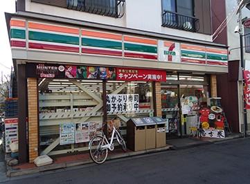 コンビ二:セブンイレブン 杉並和田店 356m