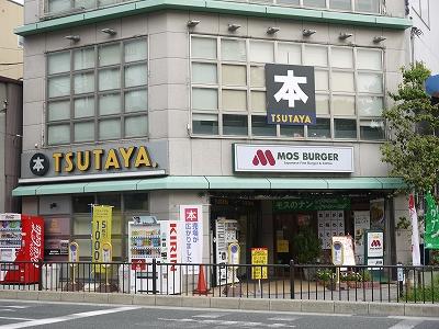 ショッピング施設:TSUTAYA 烏丸今出川店 136m