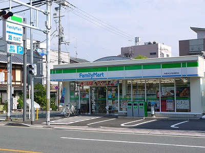 コンビ二:ファミリーマート 京都今出川針屋町店 170m 近隣