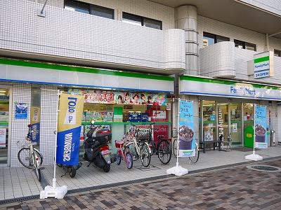 コンビ二:ファミリーマート 堀川中立売店 338m