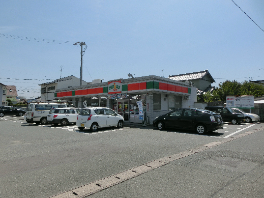 コンビ二:サンクス 浜松蜆塚店 420m 近隣