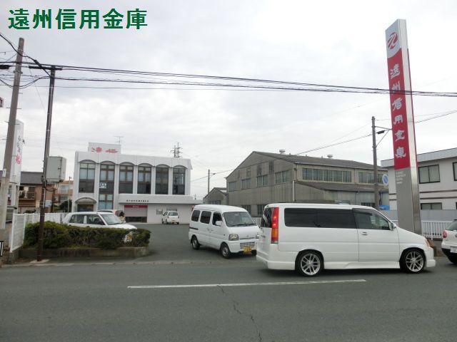 銀行:遠州信用金庫中島支店 424m