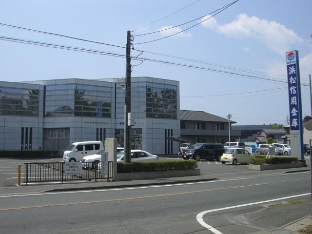 銀行:浜松信用金庫和合支店 85m