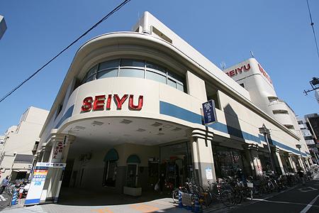 スーパー:西友 三軒茶屋店 990m 近隣