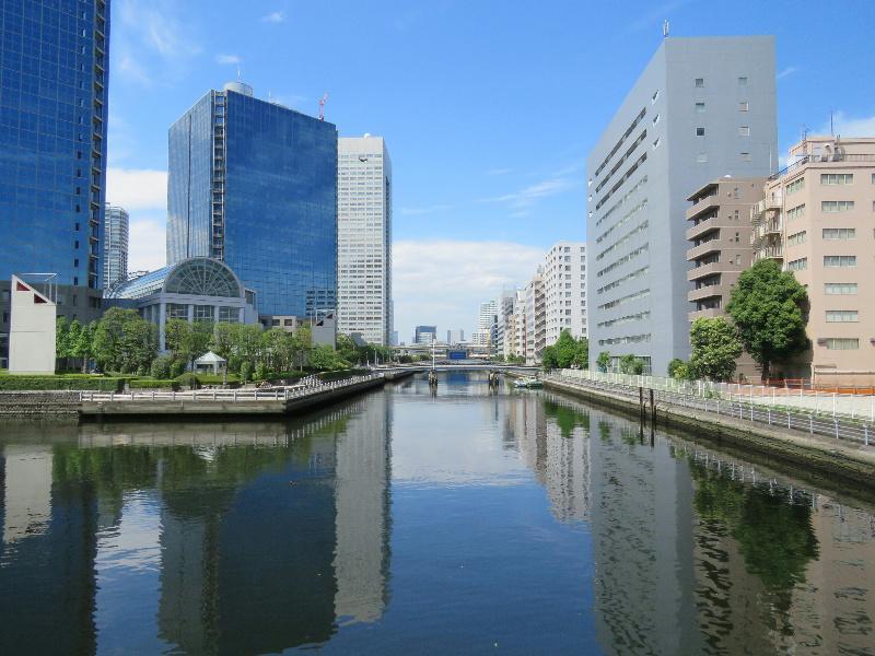 周辺環境(芝浦運河)