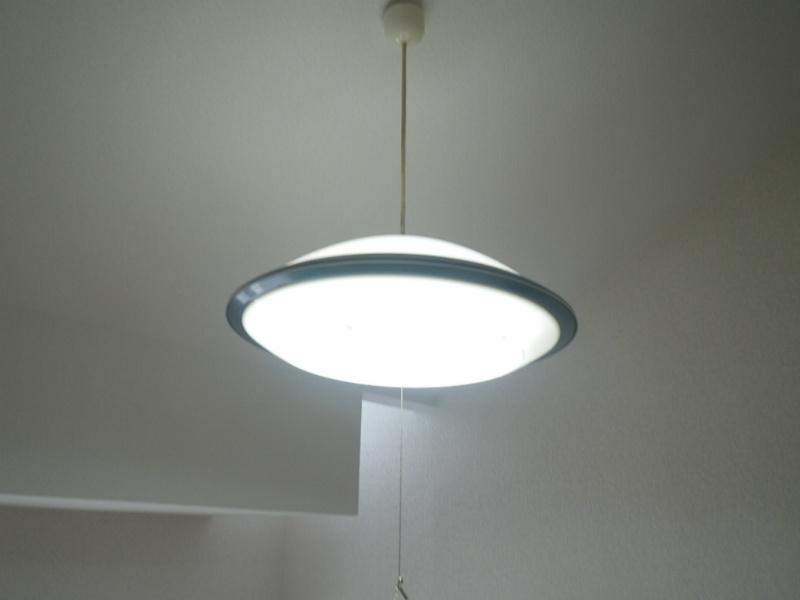 照明器具付き。