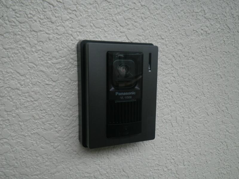 TVモニターホン外側