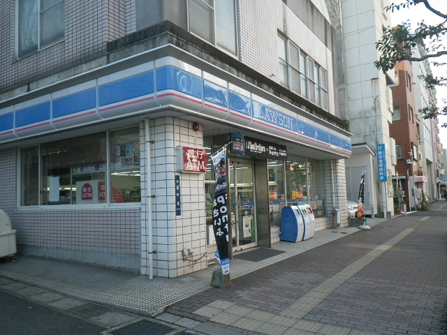 コンビ二:ローソン 鹿児島松原町店 76m