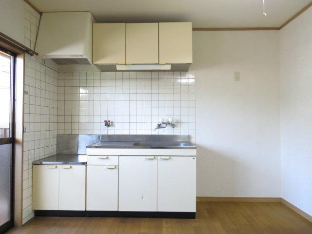 料理のしやすいキッチン。