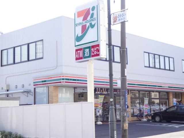 コンビ二:セブンイレブン 柏逆井店 413m