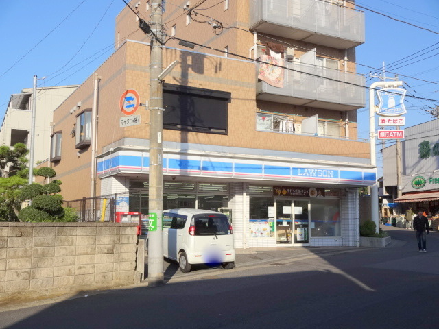 コンビ二:ローソン 柏増尾駅前店 637m