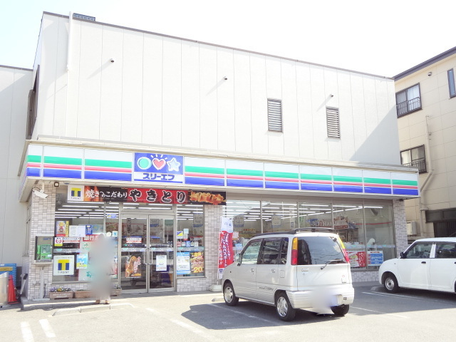 コンビ二:スリーエフ 逆井駅前店 383m