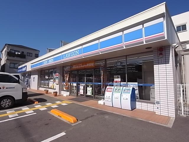 コンビ二:ローソン 神戸霞ケ丘四丁目店 1247m