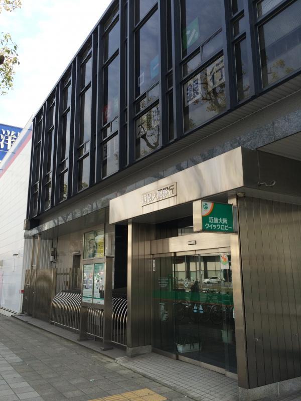 銀行:近畿大阪銀行 神戸支店 190m