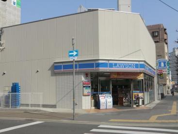 コンビ二:ローソン 神戸古湊通一丁目店 197m