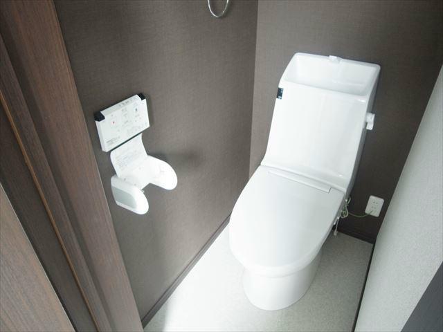 落ち着くトイレ。