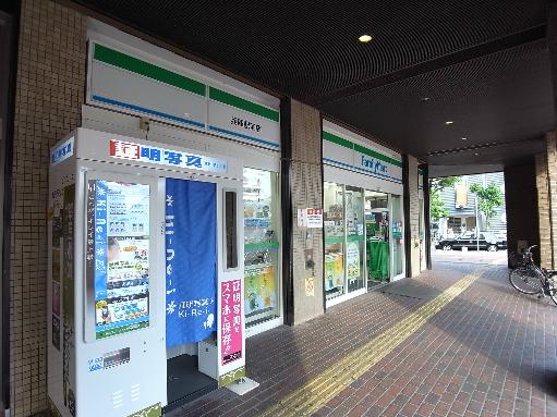 コンビ二:ファミリーマート 柳原店 223m