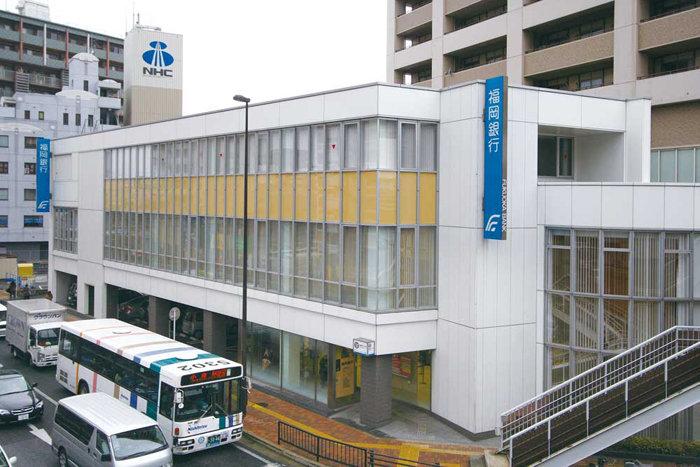 銀行:福岡銀行 三萩野支店 503m