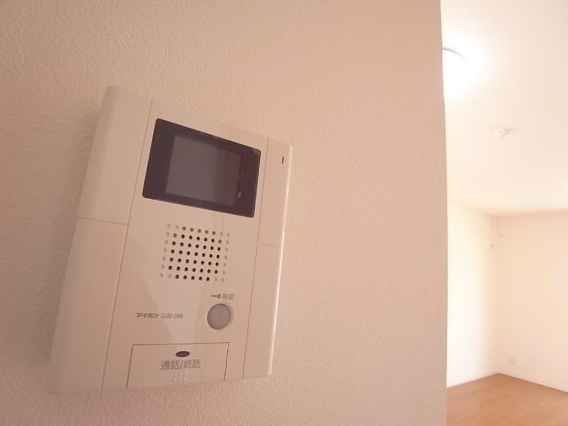 TVモニターホンで安心です^^