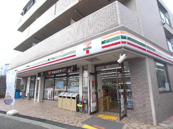 コンビ二:セブンイレブン 神戸泉が丘店 624m
