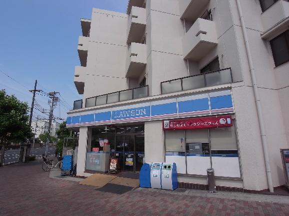 コンビ二:ローソン 岡本三丁目店 982m