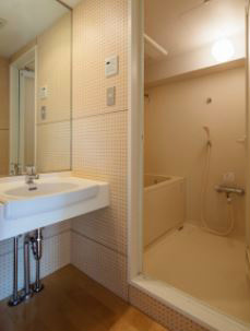 追焚・浴室乾燥機付のバスルーム