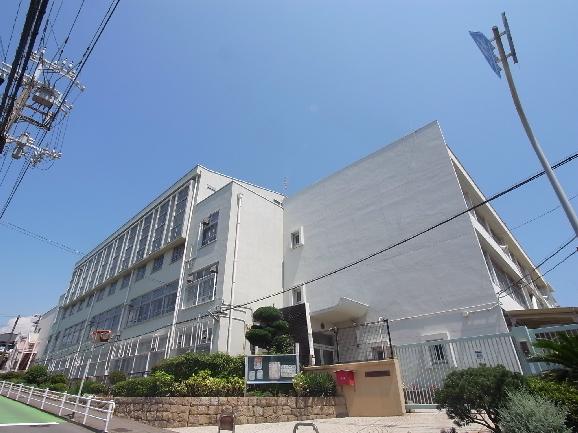 小学校:神戸市立霞ケ丘小学校 783m