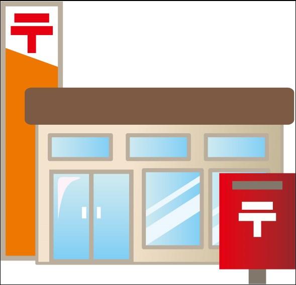 郵便局:鹿児島中洲郵便局 301m