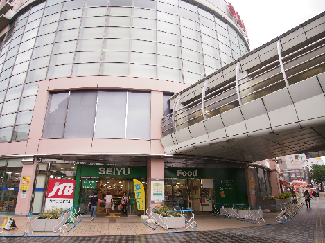 スーパー:西友 清瀬店 734m