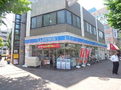 コンビ二:ローソン 塚本通店 684m