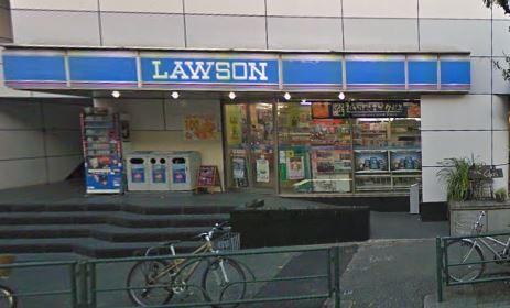 コンビ二:ローソン 柿の木坂店 347m