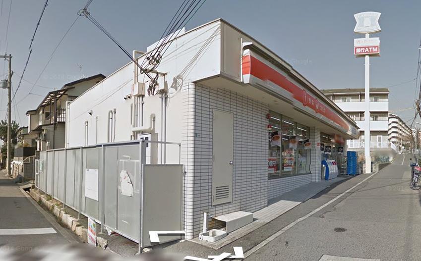 コンビ二:ローソンプラス 長田七番町店 157m