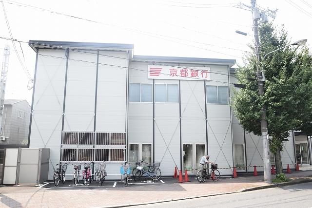 銀行:京都銀行 西陣支店 772m