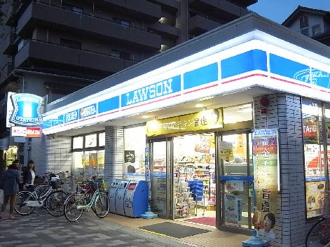コンビ二:ローソン 神戸三川口町三丁目店 14m
