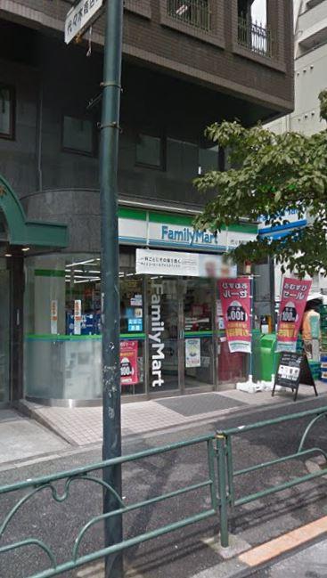 コンビ二:ファミリーマート 代々木駅西店 150m 近隣