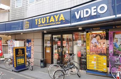 ショッピング施設:TSUTAYA 中野新橋店 356m