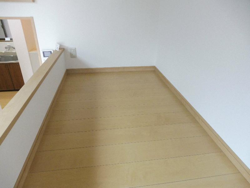 ロフトのベッドスペース