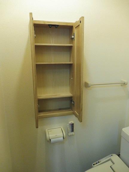 トイレ内収納です