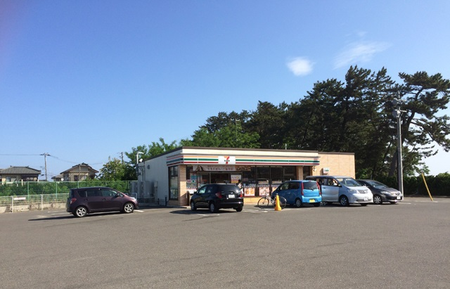 コンビ二:セブンイレブン 新潟上新栄町店 98m