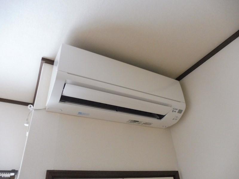エアコンも完備です。