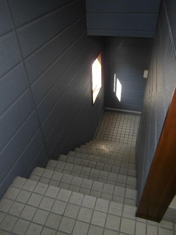 内階段ですよ