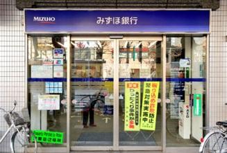 銀行:みずほ銀行 中野支店 415m